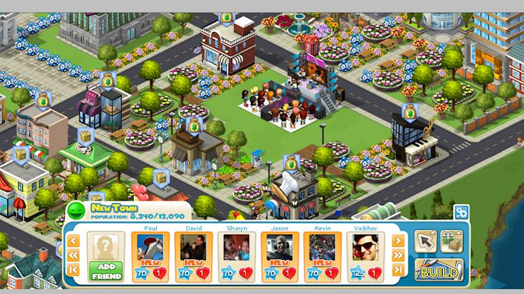 "This screen shot provided by Zynga, shows the Facebook game CityVille. Starting Tuesday, Oct. 4, 2011, ""CityVille"" players on Facebook will be able to interact with Enrique Iglesias's character when he visits their cities. They'll get to collect items the singer is known for and watch previews of his newest music video. (AP Photo/Zynga)"
