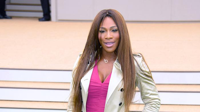 Serena Williams arrives to attend Burberry Prorsum Menswear Spring /Summer 2014 Collection in London