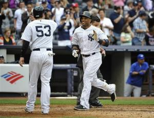 Cano homers twice in Yankees' win over Blue Jays