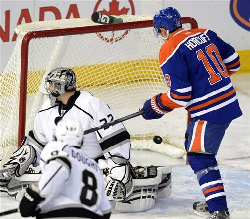 Kings beat Oilers 4-1 to take Pacific lead