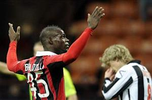 AC Milan 2-1 Udinese: Balotelli debut double seals controversial victory