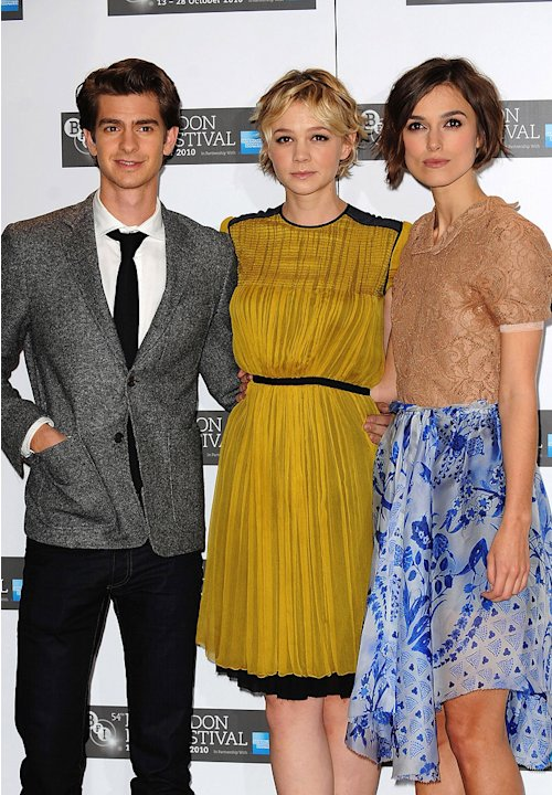 Never Let Me Go UK Premiere 2010 Andrew Garfield Carey Mulligan Keira Knightley