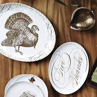 entertaining platters turkey