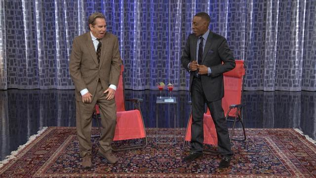 Arsenio Teaches Beau Bridges to Twerk