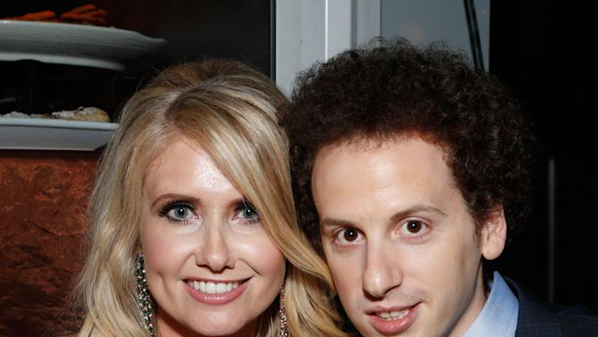 Josh Sussman, right, and Tess Hunt attend the Fox Golden Globes Party on Sunday, January 13, 2013, in Beverly Hills, Calif. (Photo by Todd Williamson/Invision for Fox Searchlight/AP Images)