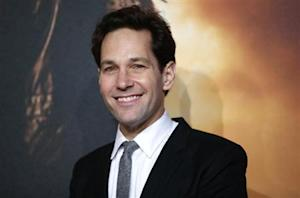 Actor Paul Rudd poses at the UK Premiere of the film Anchorman 2 in Leicester Square, London