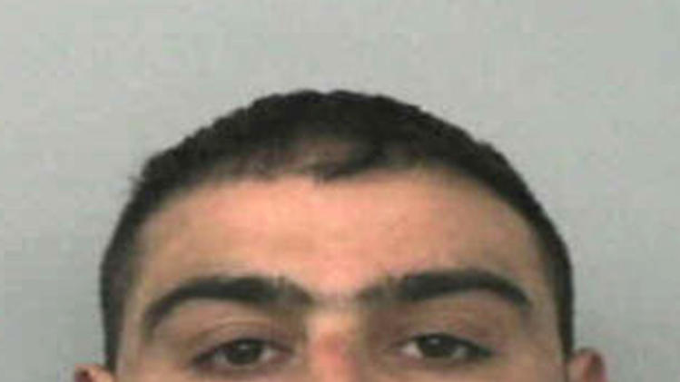 This undated photo made available by Thames Valley Police on Tuesday May 14, 2013 shows Akhtar Dogar, 32, who along with six other men was convicted in London on Tuesday for sexually abusing underage girls, including one who was just 11, by plying them with alcohol and drugs before forcing them to commit sex acts. The guilty verdict followed five months of testimony indicating the pedophile sex ring exploited girls between 2004 and 2012 in the Oxford area, some 60 miles (95 kilometers) northwest of London. (AP Photo/Thames Valley Police)