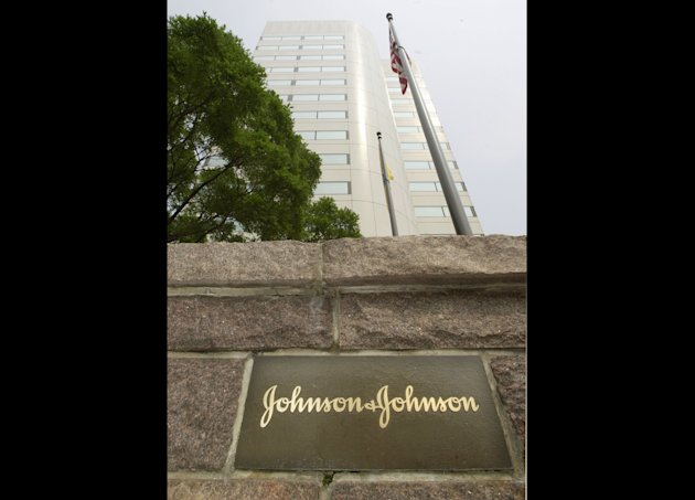 FILE - This July 19, 2002 file photo shows the Johnson & Johnson corporate headquarters in New Brunswick, N.J. The Food and Drug Administration on Monday, Dec. 31, 2012 approved a Johnson & Johnson tuberculosis drug that is the first new medicine to fight the deadly infection in more than four decades. (AP Photo/Daniel Hulshizer, File)