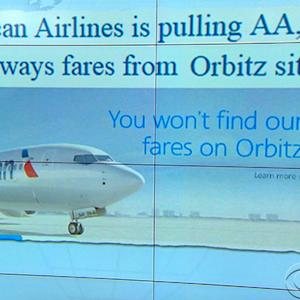 Headlines at 8:30: American Airlines pulls fares off websites run by Orbitz