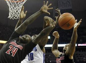 No. 6 Louisville rallies, downs Memphis 87-78