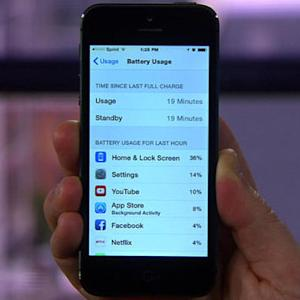 Save battery life in iOS 8