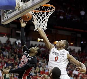 Polee lifts No. 8 San Diego St past UNLV, 59-51