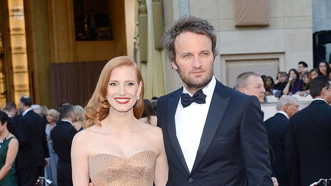 85th Annual Academy Awards - Arrivals: Jessica Chastain and Jason Clarke