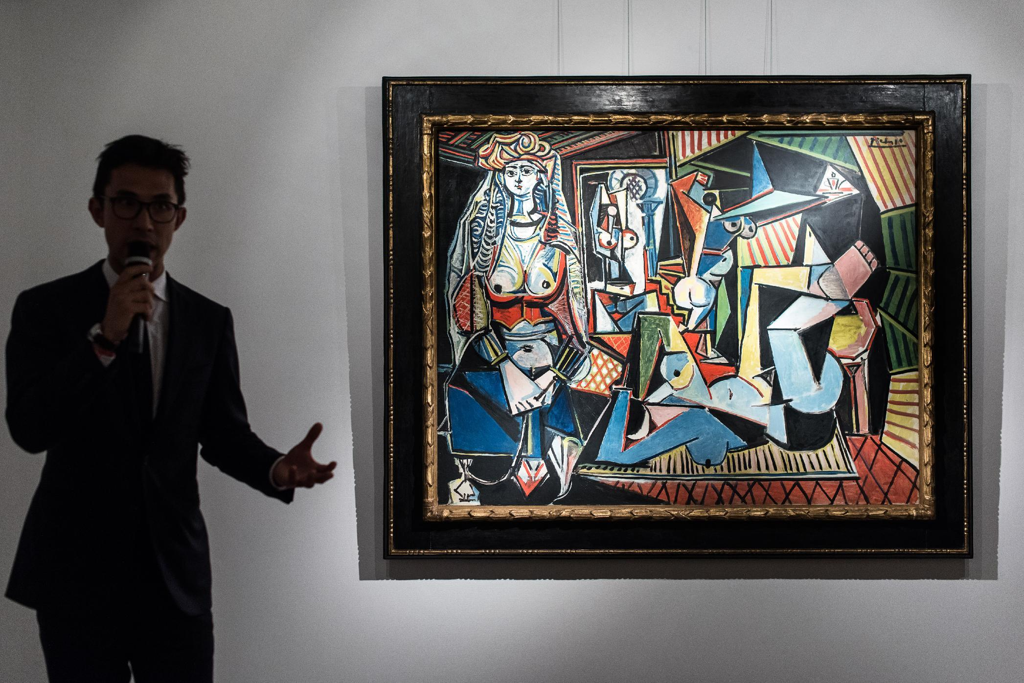 Picasso painting tipped for record sale unveiled in Hong Kong
