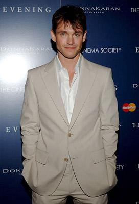 Hugh Dancy at the New York premiere of Focus Features' Evening