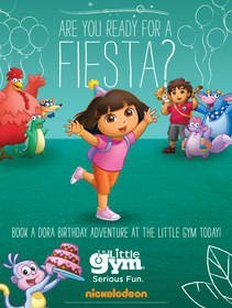 The Little Gym Partners With Nickelodeon to Host Official Dora the Explorer Birthday Parties
