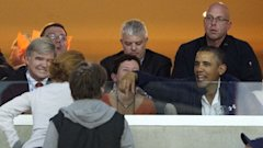 ap obama ncaa game lt 130331 wblog Obama Stops by Marquette Syracuse Basketball Game