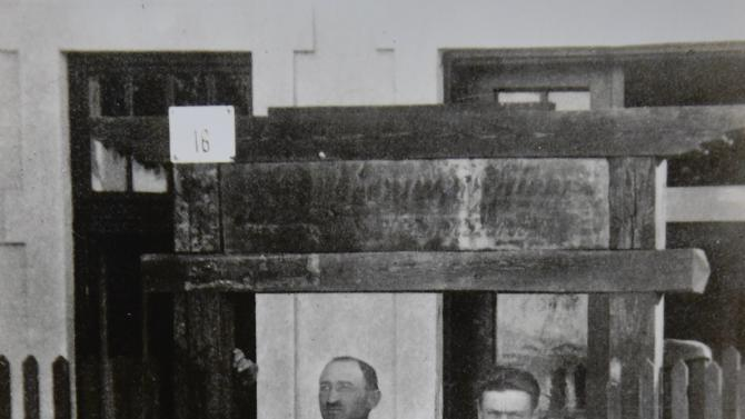 The father of Auschwitz survivor Susan Pollack, Erno, is seen in this photograph in Hungary, circa 1929