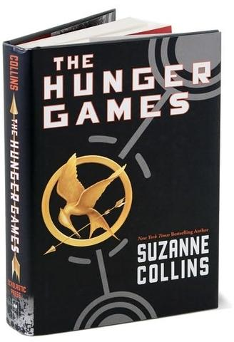 The Hunger Games by Suzanne Collins, at Barnes and Noble