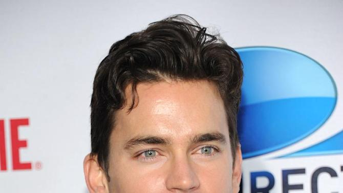 Matt Bomer arrives at DIRECTV's Seventh Annual Celebrity Beach Bowl, on Saturday, Feb. 2, 2013 in New Orleans. (Photo by Evan Agostini/Invision/AP)