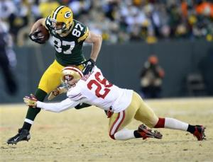 NFL: NFC Wildcard Playoff-San Francisco 49ers at Green Bay Packers
