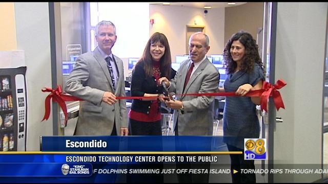 Escondido technology center opens to the public