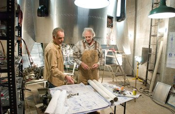 Billy Bob Thornton and Bruce Dern in Warner Bros. Pictures' The Astronaut Farmer