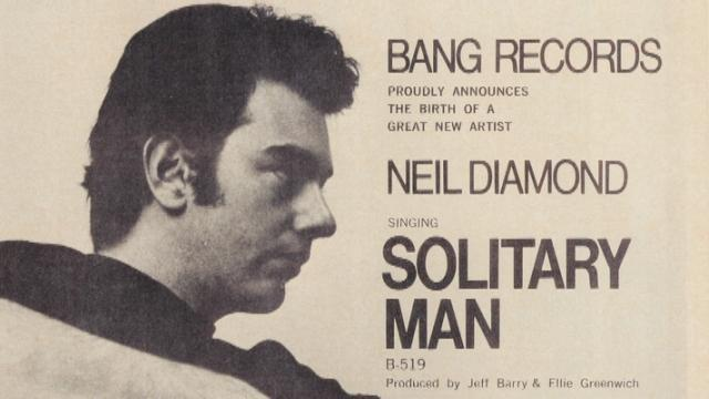 Neil Diamond - Solitary Man (The Bang Years)