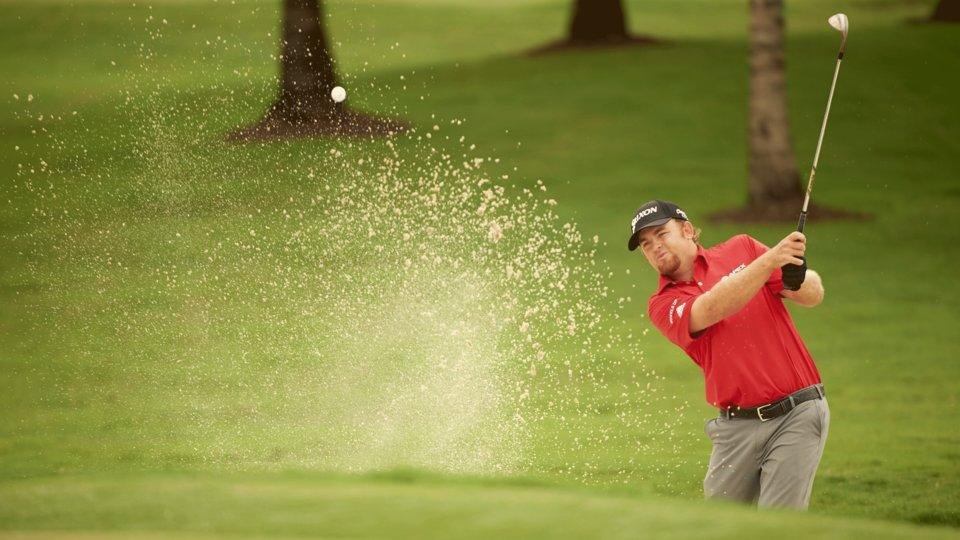 J.B. Holmes Shows Just How Fast the Greens Are at Muirfield Village