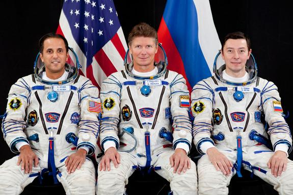 New Astronaut Crew Launches Toward Space Station