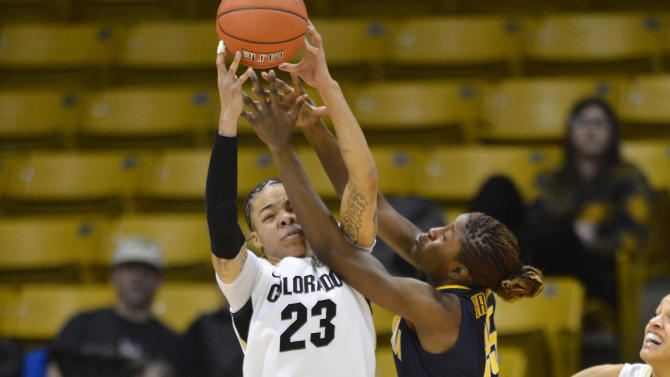 NCAA Womens Basketball: California at Colorado