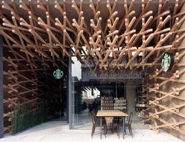 World's most peaceful Starbucks, …
