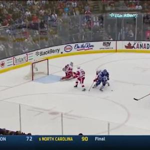 Jimmy Howard Save on Mike Santorelli (14:31/3rd)