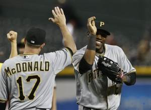 Pirates beat D-backs 6-5 for first winning streak