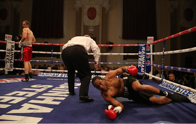 Boxing - Walsall Town Hall