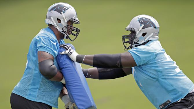 Panthers unsure who'll protect Newton's blindside