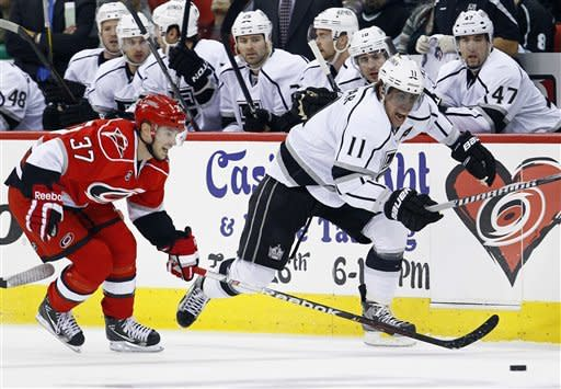 Skinner leads Hurricanes to 2-1 win over Kings