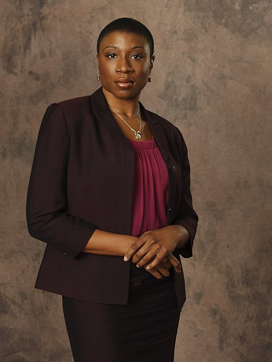 "Aisha Hinds stars as Lt. Maureen Mason in ""Detroit 1-8-7."""