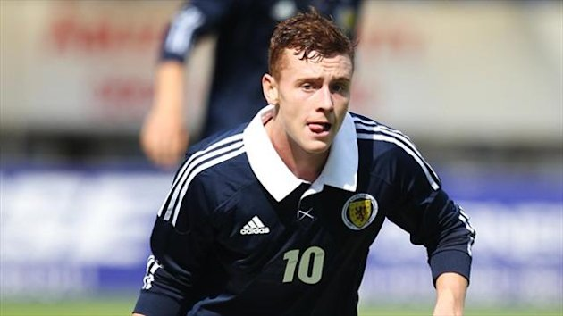 Lewis MacLeod was on the scoresheet for Scotland
