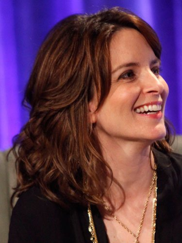 Shoulder-length: Tina Fey