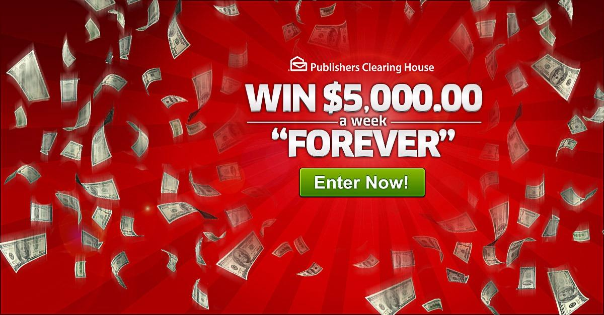 """Win $5K Weekly """"Forever"""""""