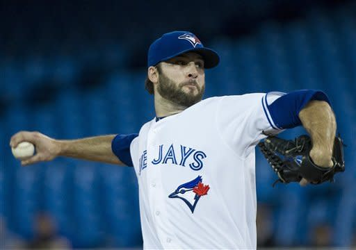 Morrow fans 11 as Blue Jays beat Twins 2-1