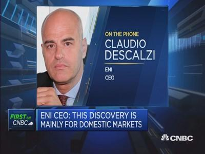 Eni 'supergiant' gas field find a gamechanger: CEO