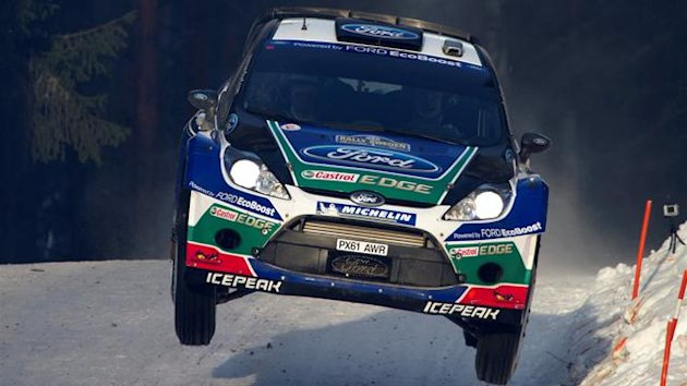 Jari-Matti Latvala, Swedish Rally 2012