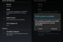 OTA Update Center allows developers to push updates to custom Android ROMs