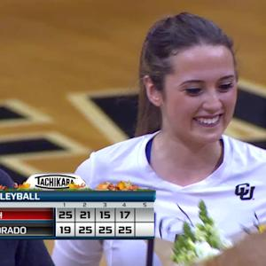 Recap: Colorado women's volleyball comes back to beat Utah in four
