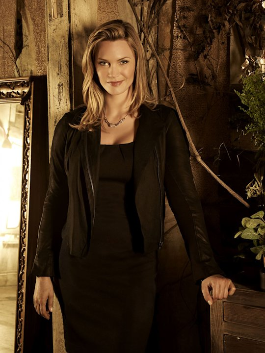 "Natasha Henstridge stars as Dawn in ""The Secret Circle."""