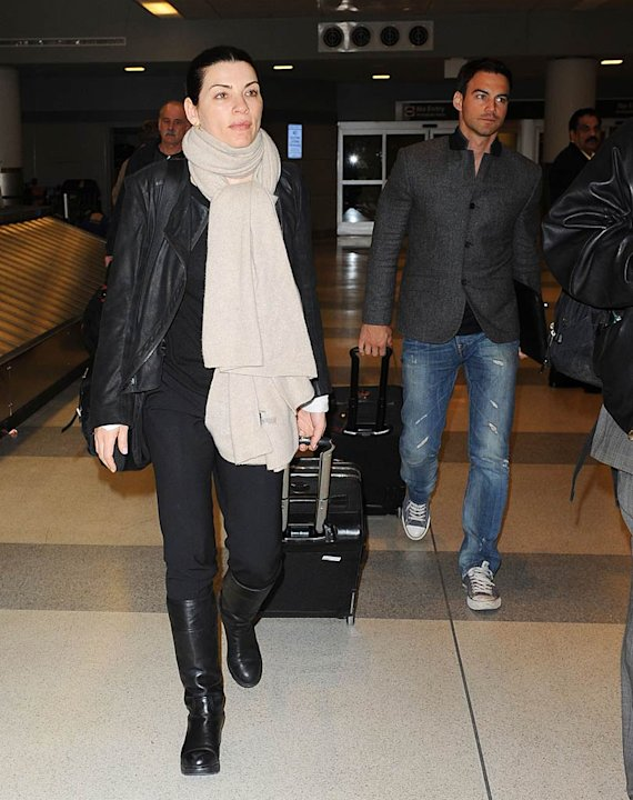 Julianna Maguilies JFK Airport