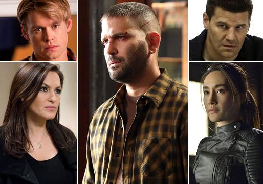 Ask Ausiello: Spoilers on Glee, Once, Nikita, SVU, Scandal, Grimm, Good Wife, Bones and More!