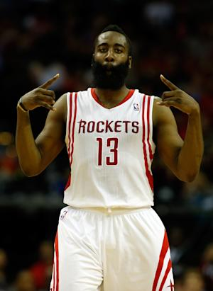 Harden's 39 lead Rockets over Thunder 111-107